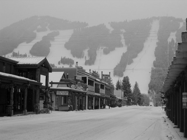 Jackson Hole WY, Snow King Village/Mountain