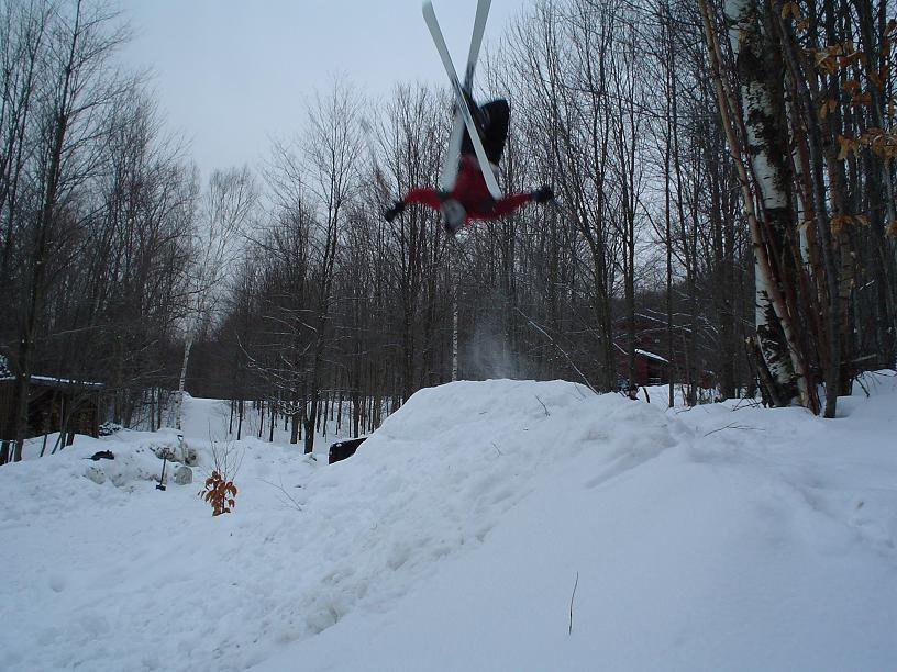 a little backflip action