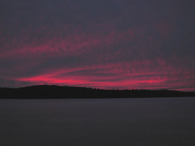 Sunrise Over Squam Lake