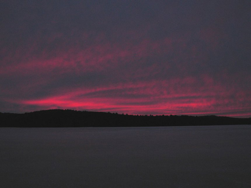 Sunrise Over Squam Lake