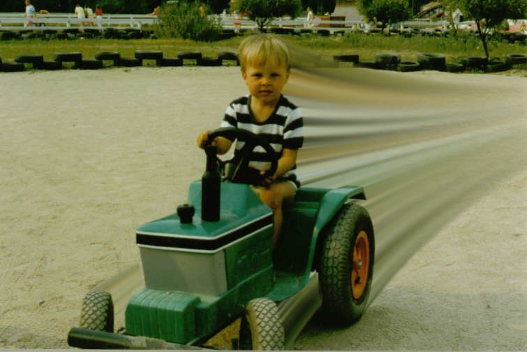 Me and my tractor...