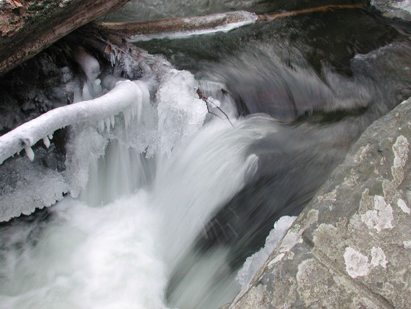 1/8 Shutter Speed Pic of Stream