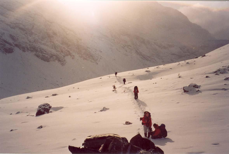 Wekend Winter Mountain climb