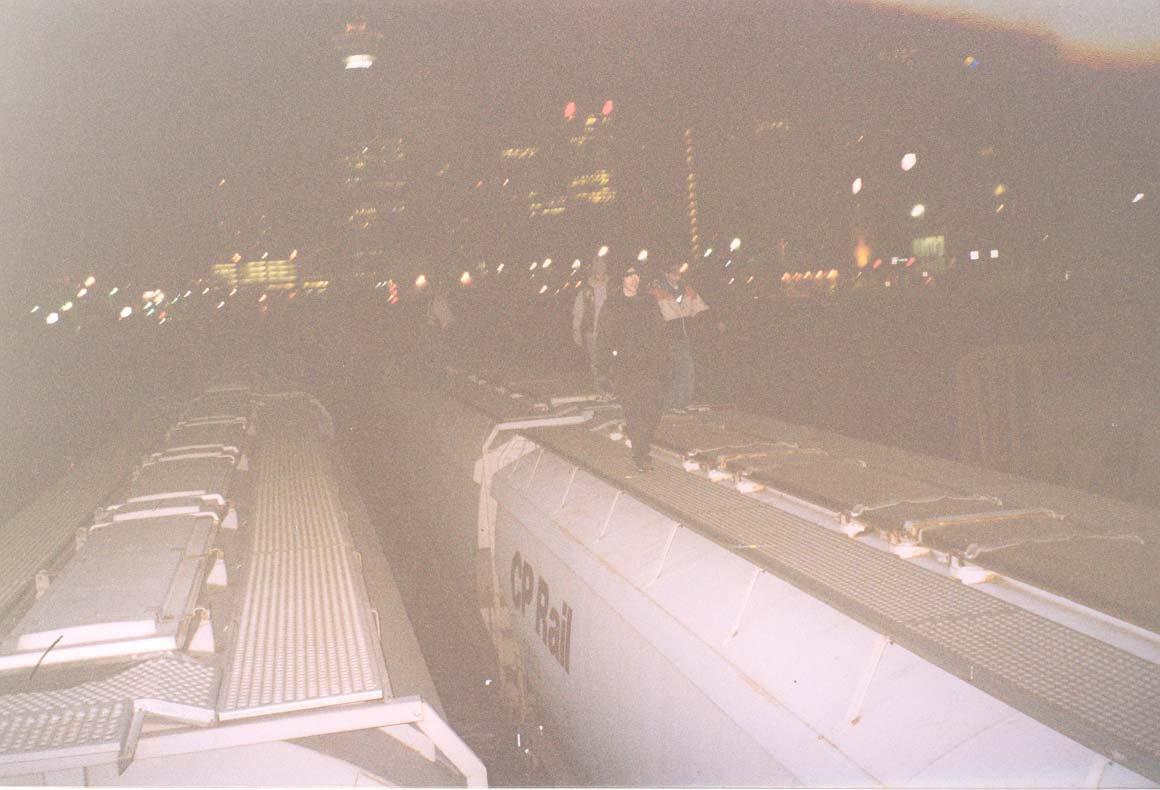 TRAIN HOPPING