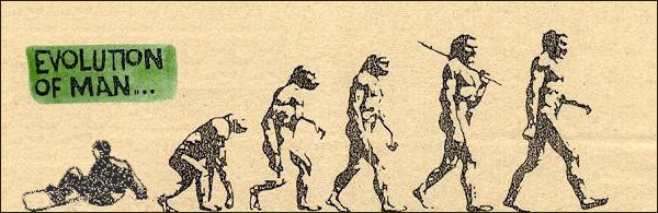 Evolution of Man..lol
