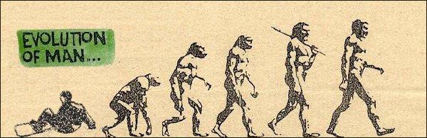Evolution of Man..lol
