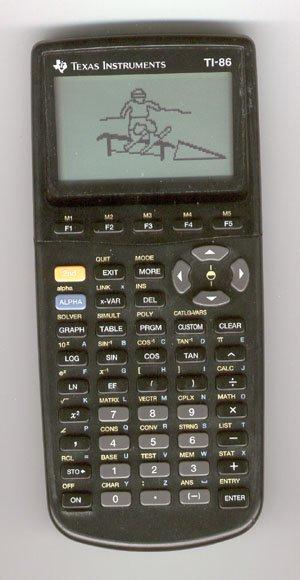 drawn on a TI86 in math