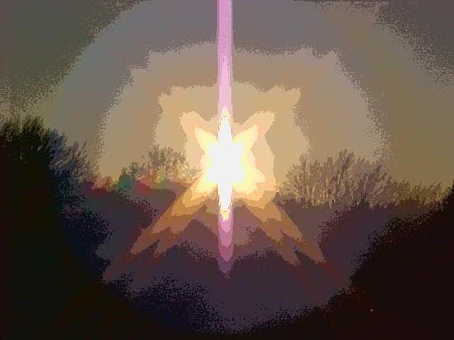solarized sunset pic