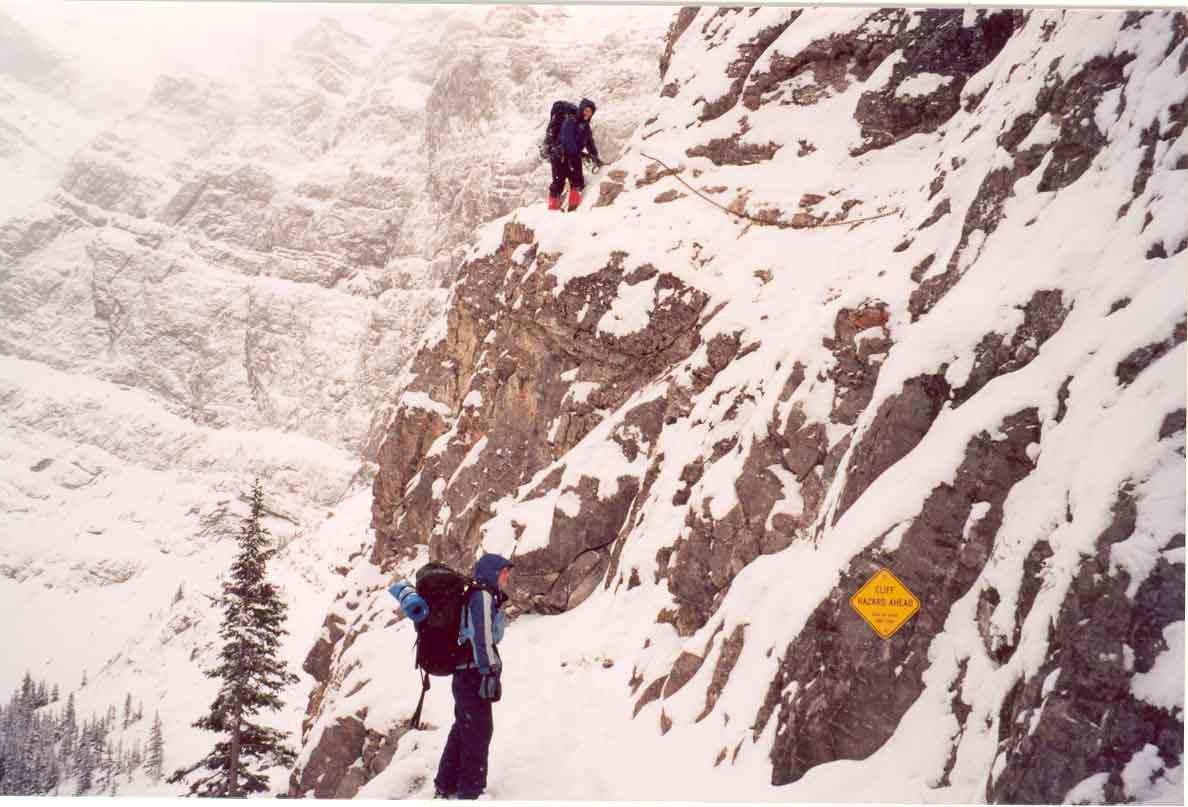 Chained Cliff hazard