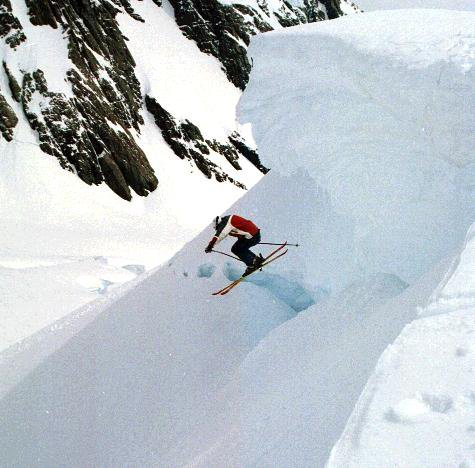 Hucking 30ft Cornice, New Zealand B/C