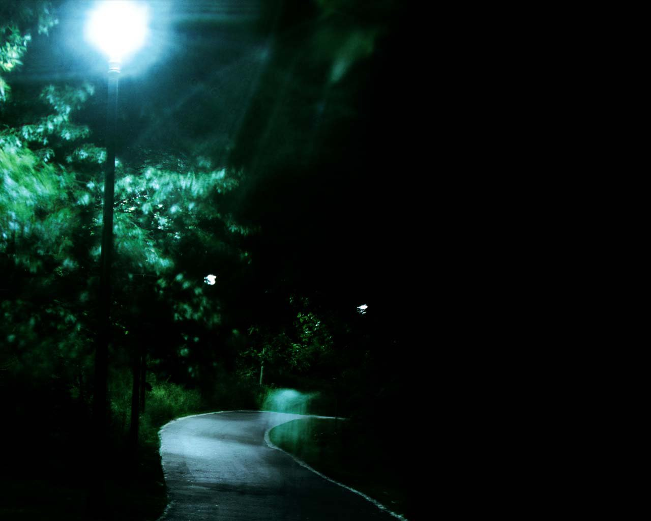 'Night Path' - Background