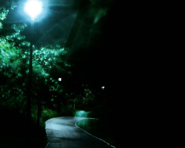 'Night Path' - Background