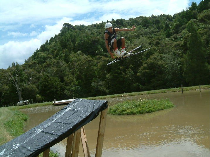 360 safety off home built water ramp