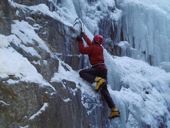 Mixed climbing!