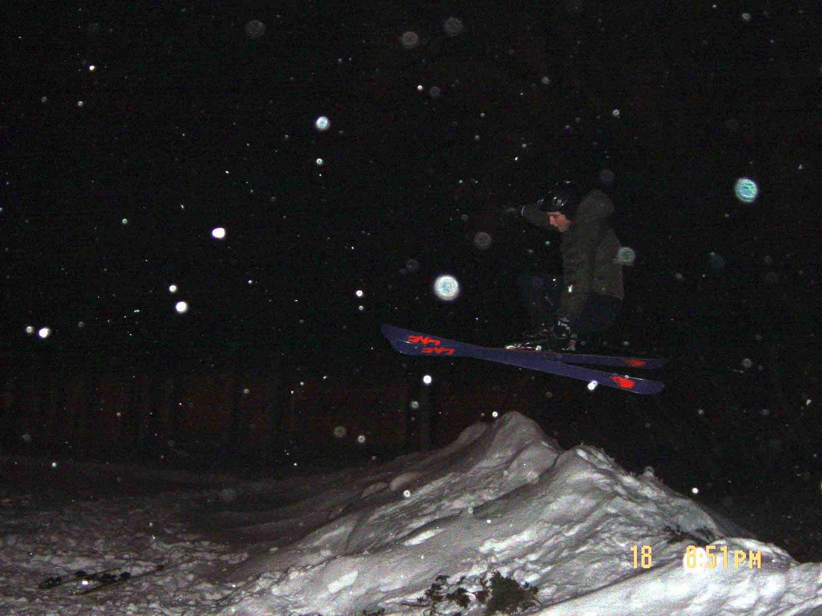 Snowbank Jumping ( Not Smart)