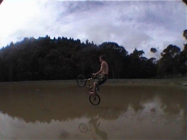 Wheelie on Water!! heh