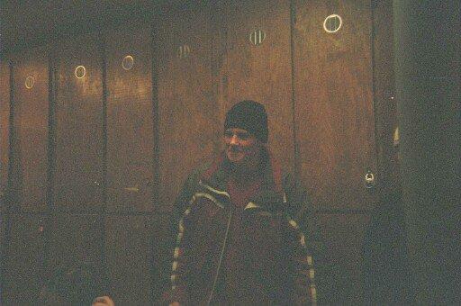 Ryan in the locker room