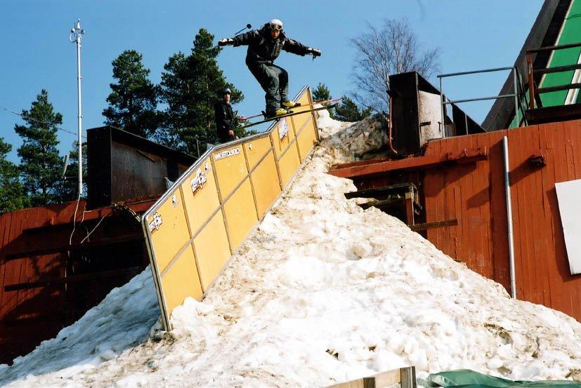 the battle in falun 2003..kinked rail
