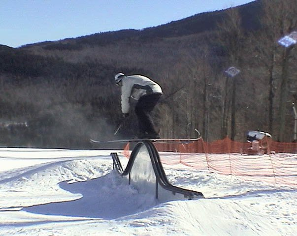 whiteface rollercoaster rail