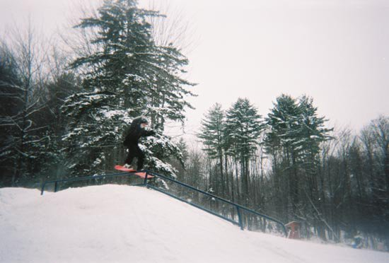royal mountains first real rail....those of you who know royal mountain know this is a big step up f