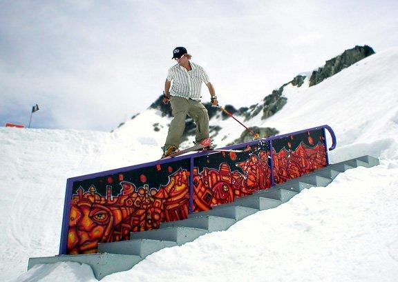 High North staircase rail