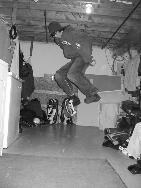 ok kickflip on skateboard