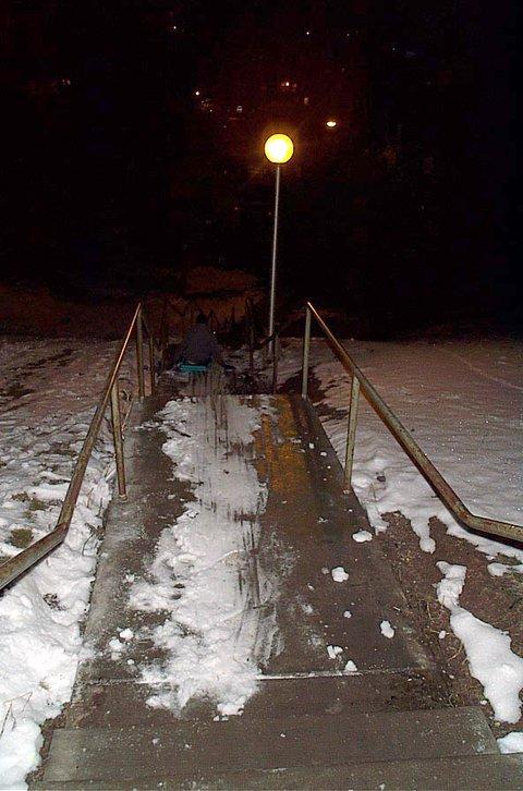 hardcore sledding