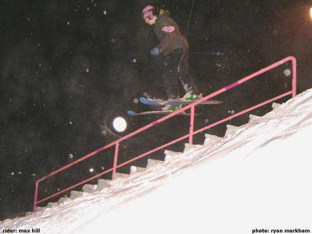 Max - Switch Frontside 270 Out