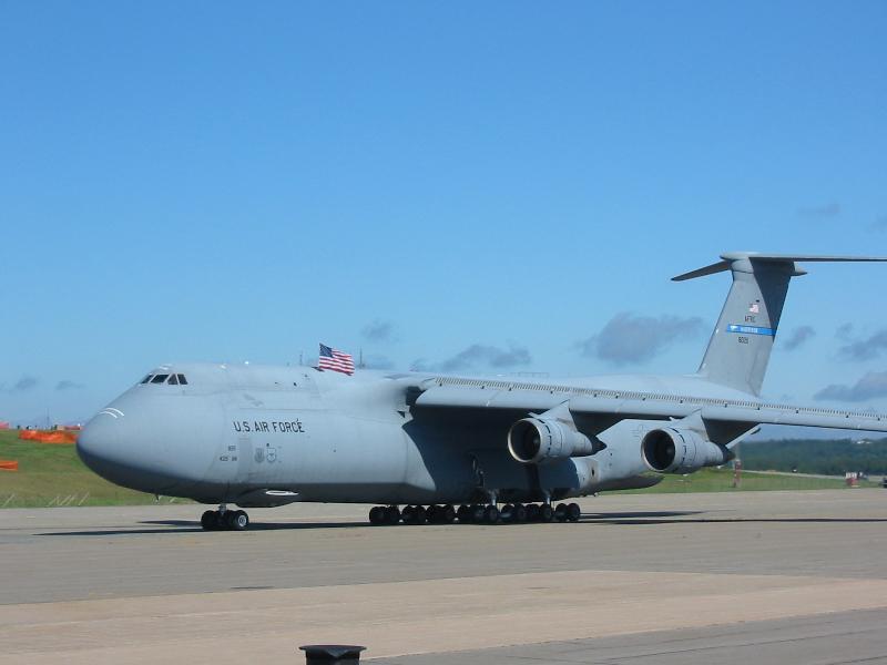 Big Patriotic Jet C-5a