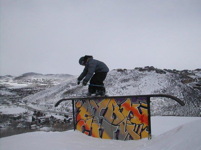 ash on the tall rail