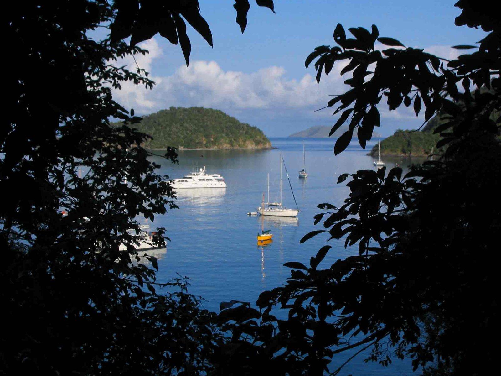 Over looking Maho Bay