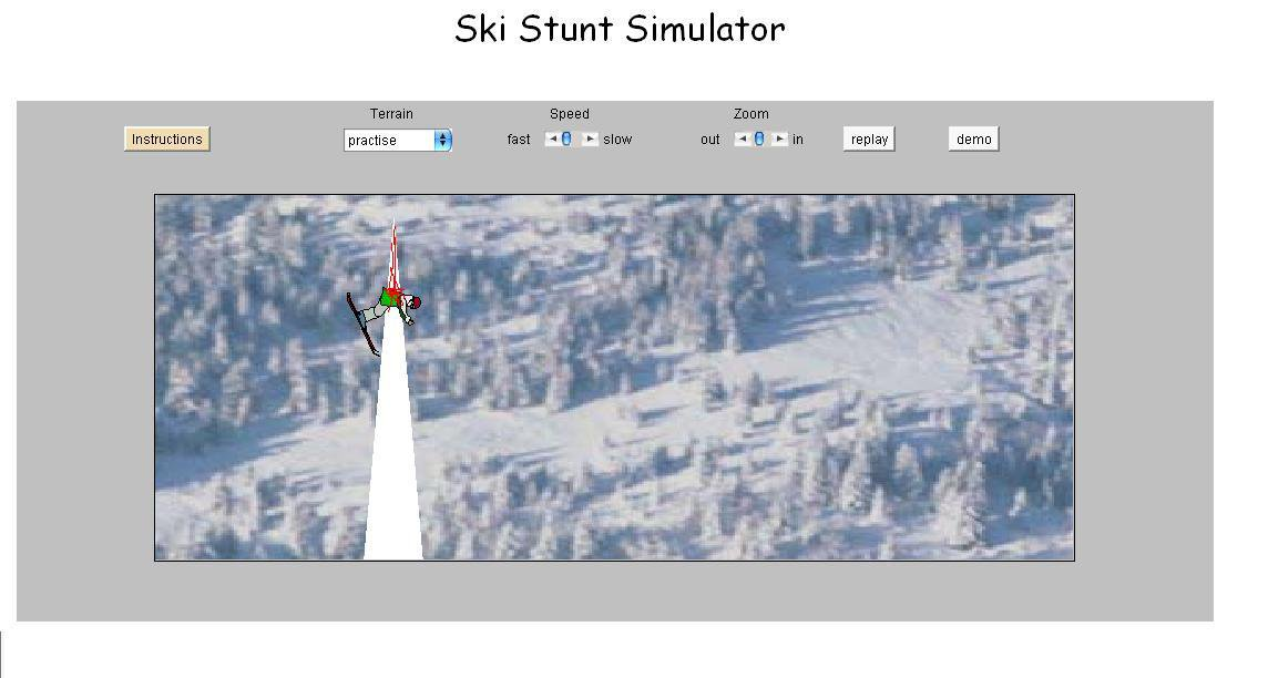 skistunt is a violent game!(very graphic)