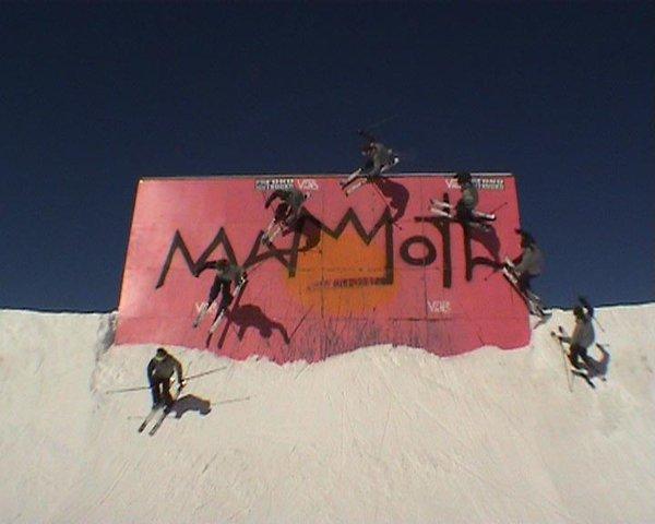 wall ride at mammoth