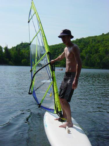 my summer job.. windsurfing instructor :)