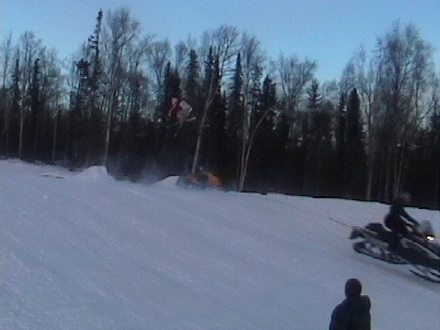 360 over my sled