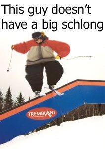 fat-ass skier