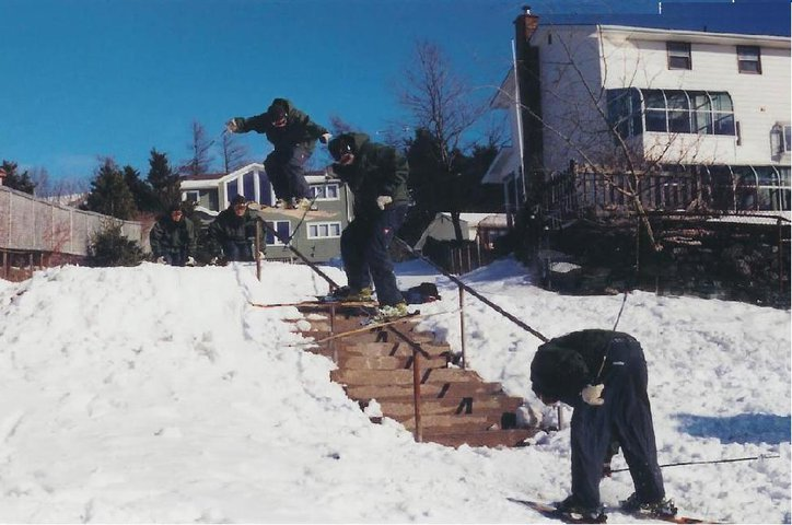 first handrail sequence