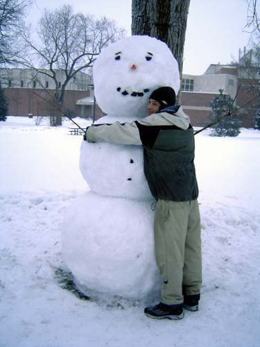 8' Snowman Finally Completed