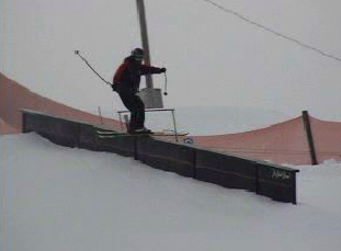 Hitting the handrail