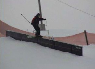 Hitting the handrail