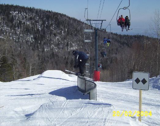 S rail at massif