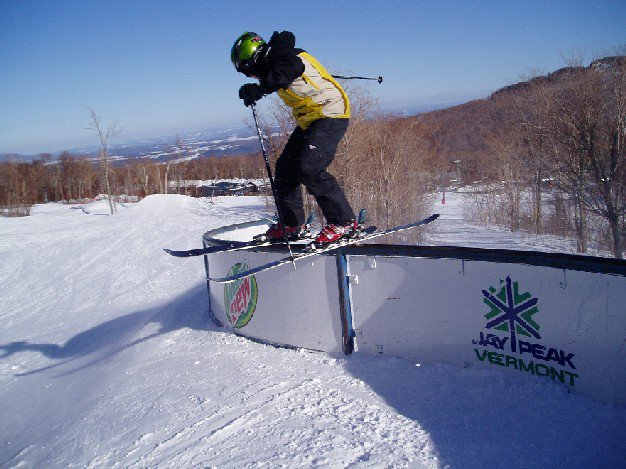20 foot s rail Jay Peak #2
