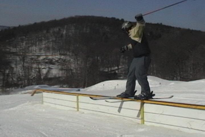 50 ft. rail at catamount