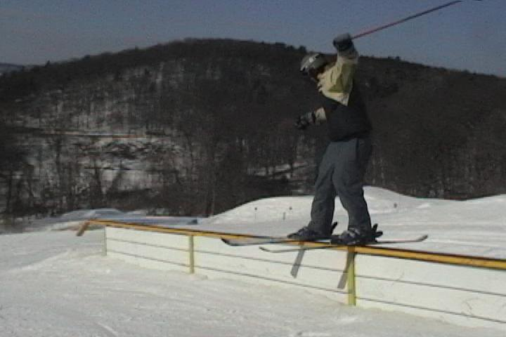 50 ft. rail at catamount