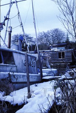 Finn slough boat.