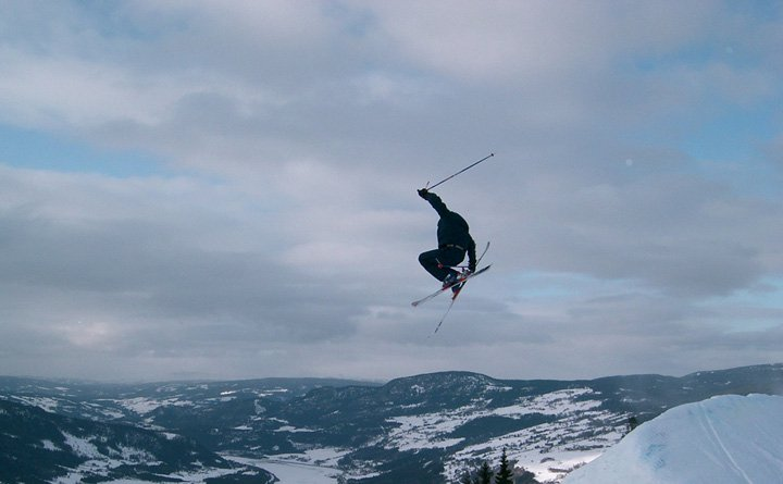 Just a air, with some lousy grab. But it's a nice picture :P