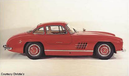 Another Classic Gullwing Mercedes