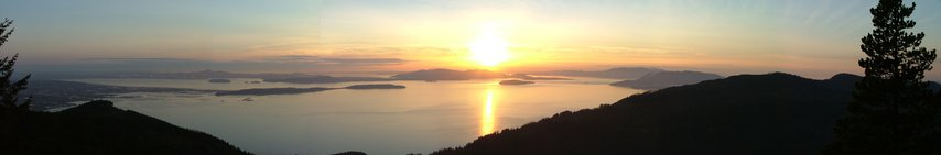 Oyster Dome Panorama