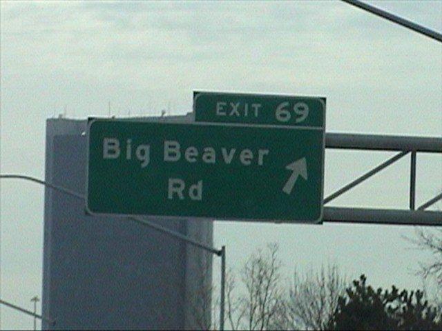 Big Beaver Rd. Exit 69