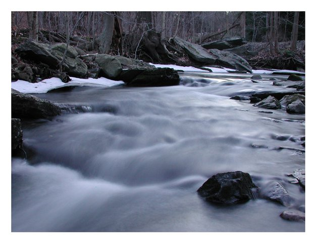 2 Second Exposure of a Stream